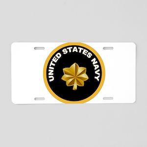 Lt. Commander Aluminum License Plate