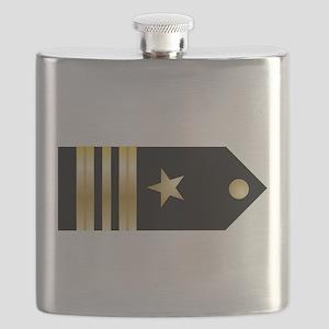 Lt. Commander Board Flask