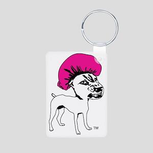 logo_WP_No_Text 10by10_whi Aluminum Photo Keychain
