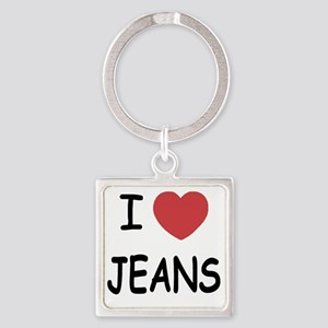 JEANS Square Keychain