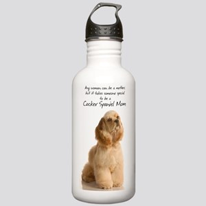 CockerMom441_iphone Stainless Water Bottle 1.0L