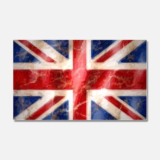 475 Union Jack Flag large Car Magnet 20 x 12