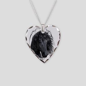 black_horse_freigestellt_gesp Necklace Heart Charm
