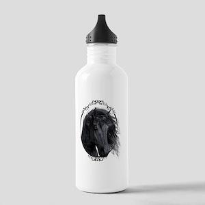 black_horse_freigestel Stainless Water Bottle 1.0L