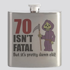 70 Isnt Fatal But Old Flask