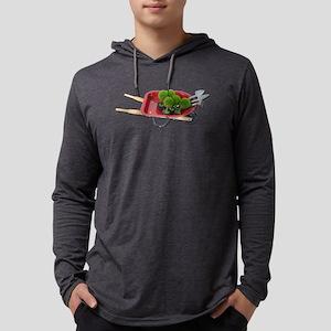 Wheelbarrow Plants and Tools Long Sleeve T-Shirt