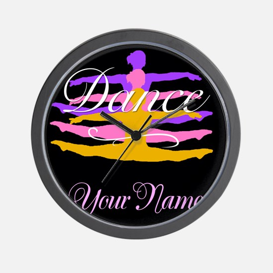Dance Customizeable Wall Clock