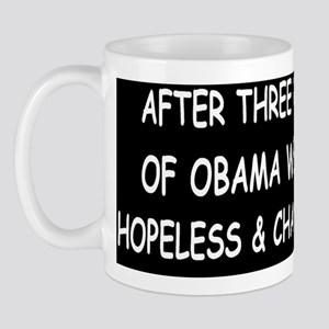 anti obama hopeless and changelessdbutt Mug