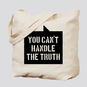 you-cant-handle-the-truth-01b-black Tote Bag