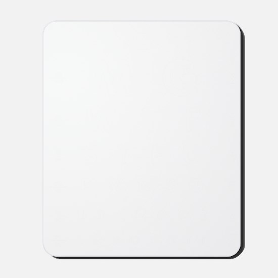 eyechart-01c-white Mousepad