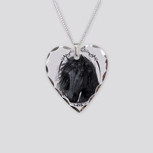 black_horse_freigestellt Necklace Heart Charm