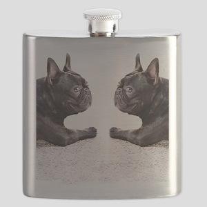 french bulldog flip flops Flask