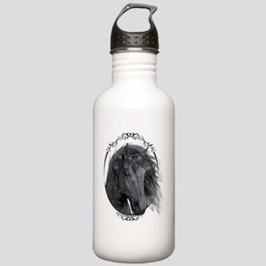 black_horse_hell_freig Stainless Water Bottle 1.0L