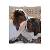 Boer goat Fleece Blankets