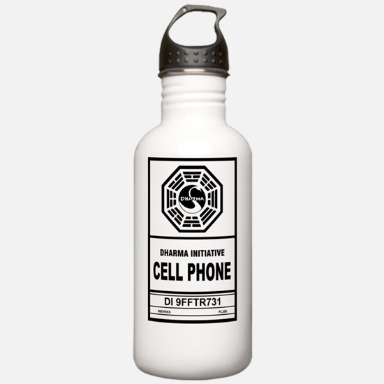 Dharma cell phone Water Bottle