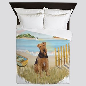 Rowboat - Airedale 1 Queen Duvet
