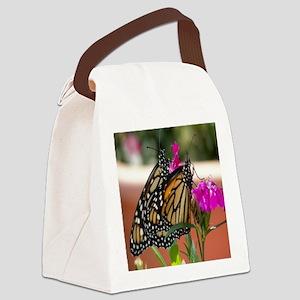 velvet pillow Canvas Lunch Bag