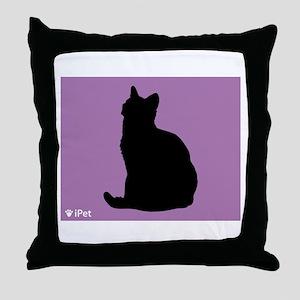 Shorthair iPet Throw Pillow
