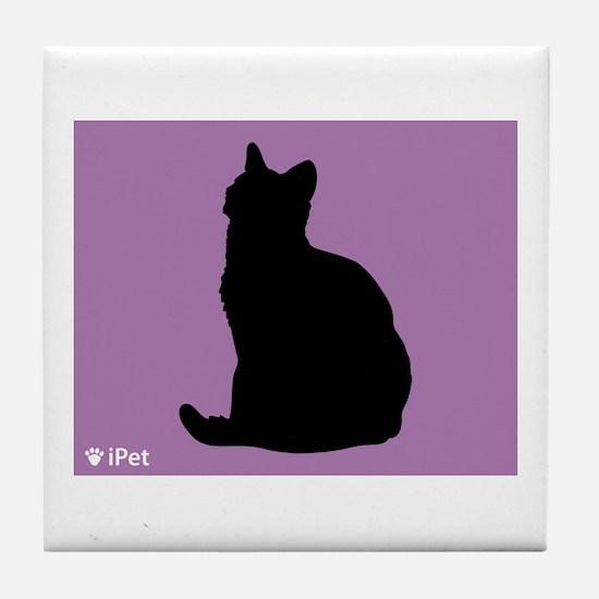 Shorthair iPet Tile Coaster