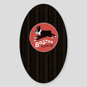 bostonkindlesleeve Sticker (Oval)
