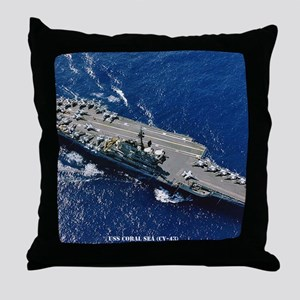 csea cv framed panel print Throw Pillow