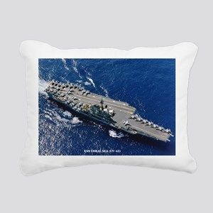 csea cv large framed pri Rectangular Canvas Pillow