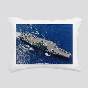 csea cva framed panel pr Rectangular Canvas Pillow