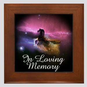 In Loving Memory Framed Tile