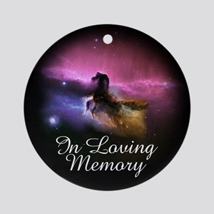 In Loving Memory Ornament (Round)