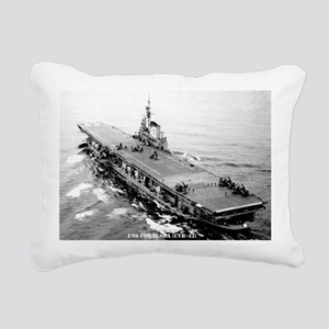 csea cvb large framed pr Rectangular Canvas Pillow