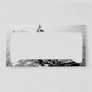 csea cvb large framed print License Plate Holder