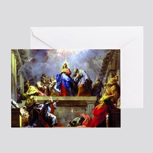 Pentecost complete1 Greeting Card