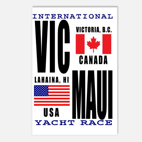 Vic-Maui Standard Postcards (Package of 8)