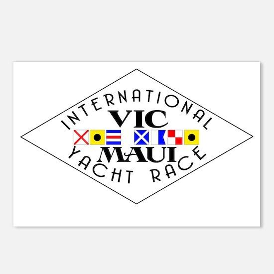 Vic-Maui Flag Logo Postcards (Package of 8)