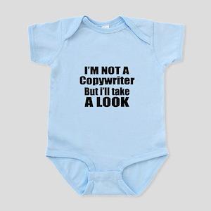 I Am Not Copywriter But I Will Baby Light Bodysuit