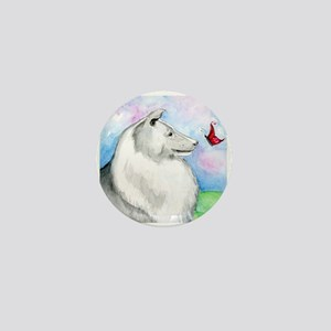 Sheltie Shetland Sheepdog Mini Button