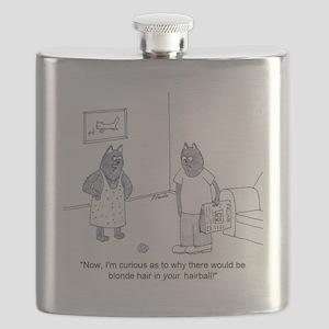 cat furball Flask