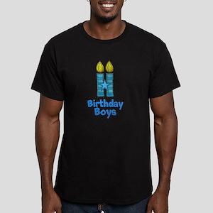 Birthday Boys Two Candles T-Shirt