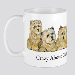 Crazy about Cairn Terriers Mug