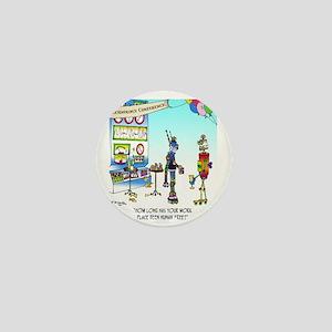 7742_robot_cartoon Mini Button