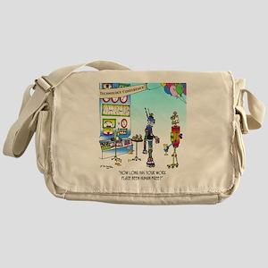 7742_robot_cartoon Messenger Bag