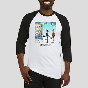 7742_robot_cartoon Baseball Jersey