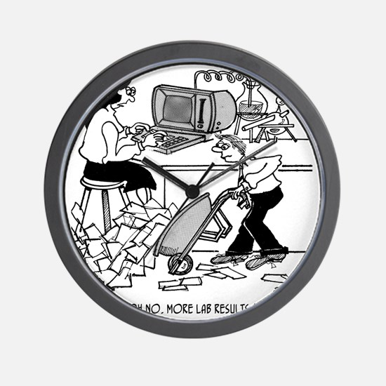 1930_lab_cartoon_EK Wall Clock