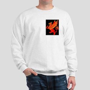 Gryphon Red Gold Sweatshirt