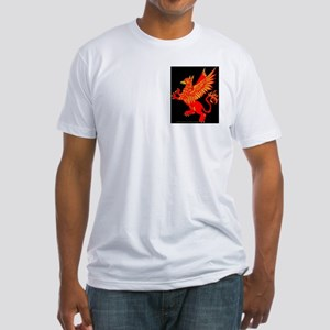 Gryphon Red Gold Fitted T-Shirt
