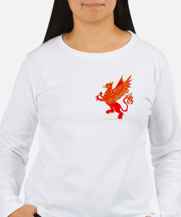 Gryphon Red Gold T-Shirt