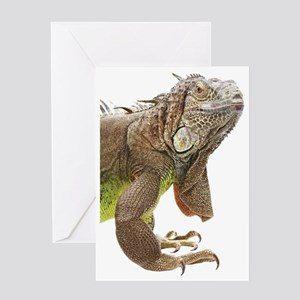 Iguana_logo_XLarge_trimmed Greeting Card