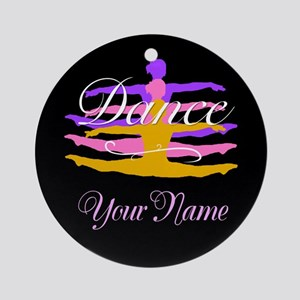 Dance Customizeable Ornament (Round)