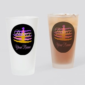Dance Customizeable Drinking Glass