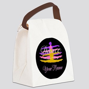 Dance Customizeable Canvas Lunch Bag
